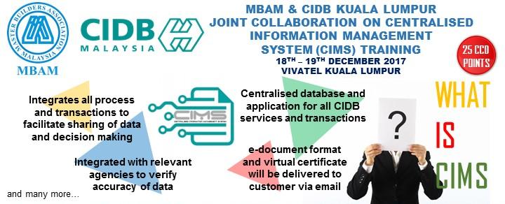 CIDB-MBAM CIMS System Training_181217_web