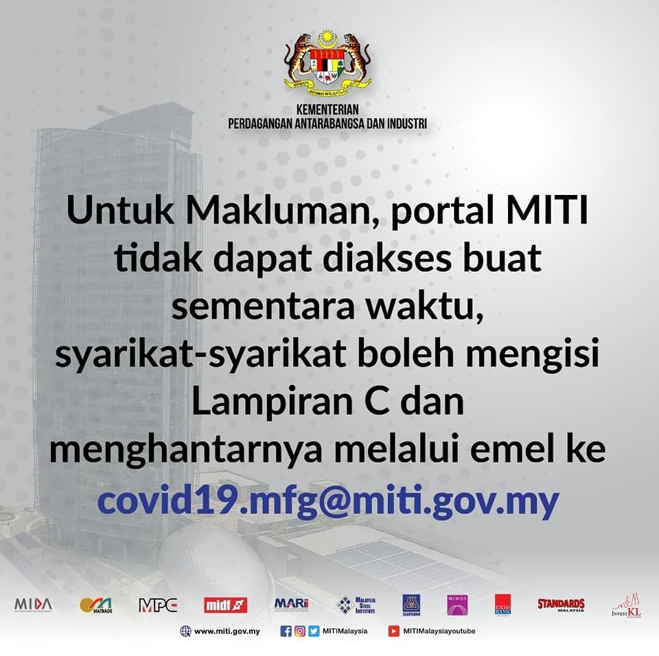 MITI submission appendix C malay