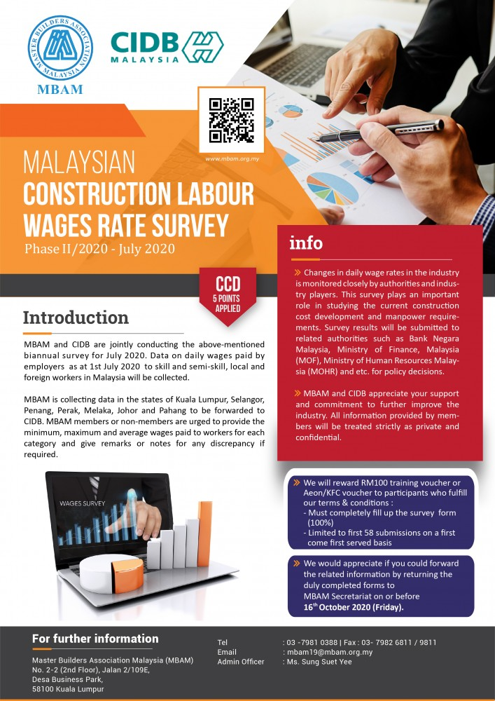 Wages Survey brochure Phase II 2020