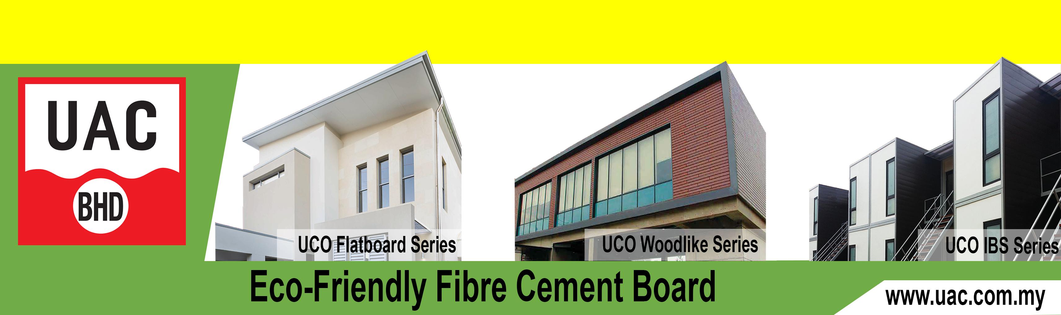 MBAM UAC Eco Friendly Fiber Cement Board Web Banner
