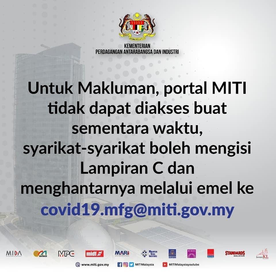 MITI submission appendix C malay