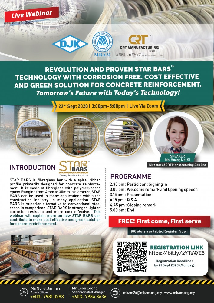 [20200922] Revolution and Proven STAR BARS™ Technology with Corrosion Fr...