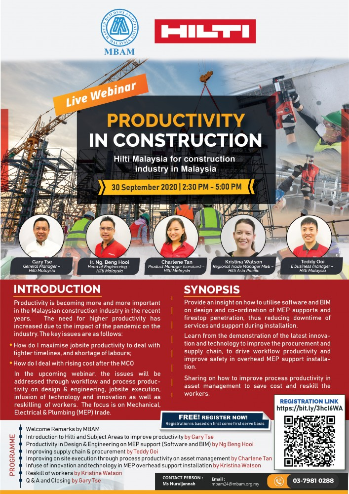 [20200930] Productivity In Construction - Flyers