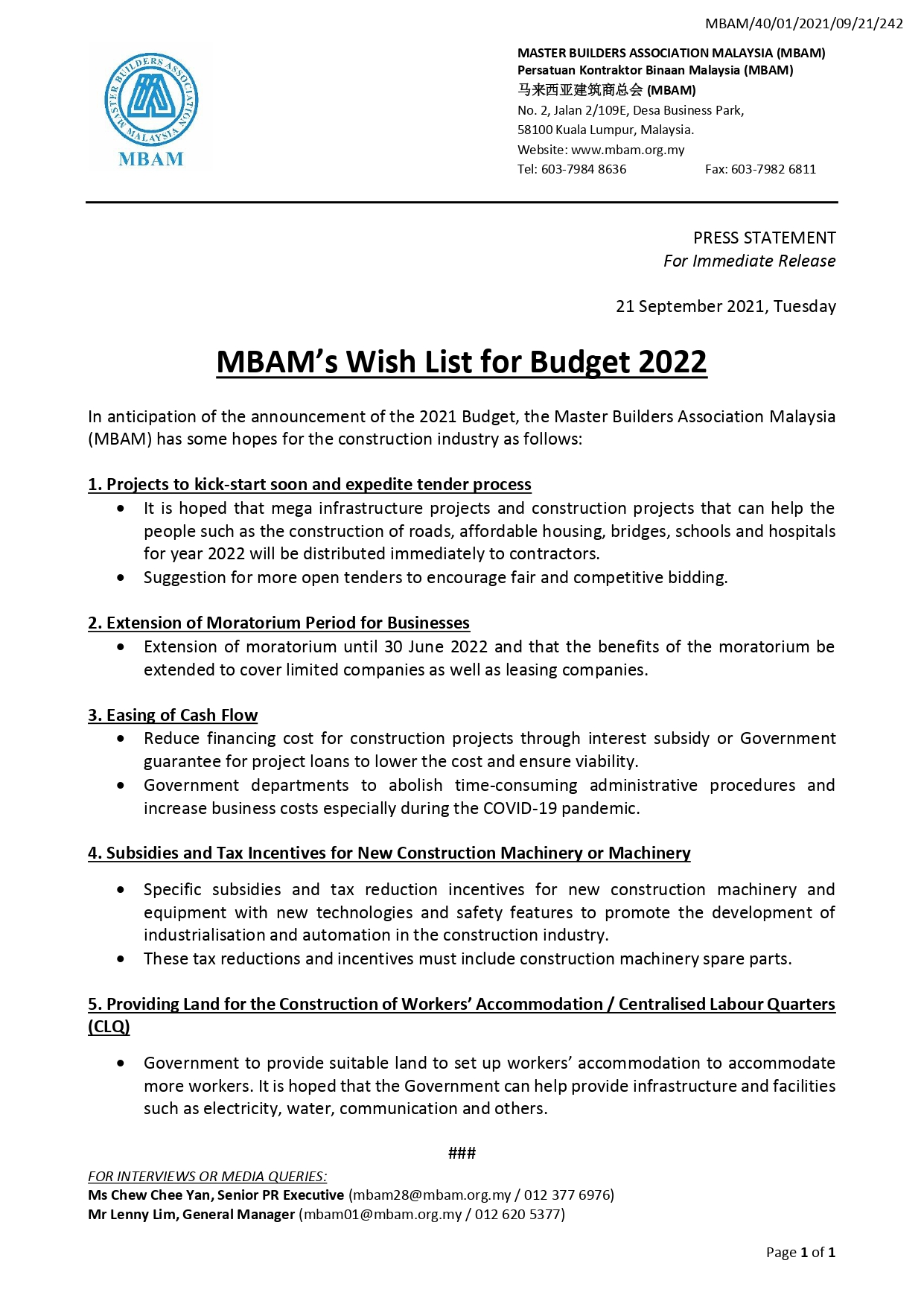 20210921 MBAM Wish List for Budget 2022_page-0001