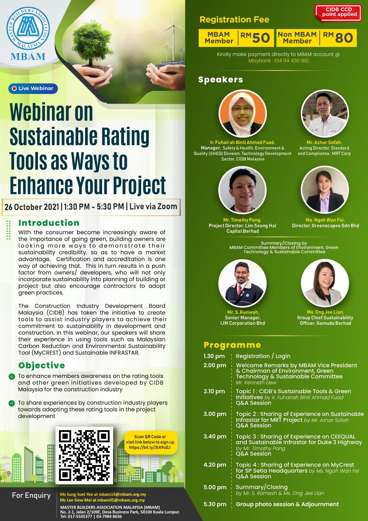 Flyer- Webinar on Sustainable Rating Tools as Ways to Enhance Your Project_page-0001
